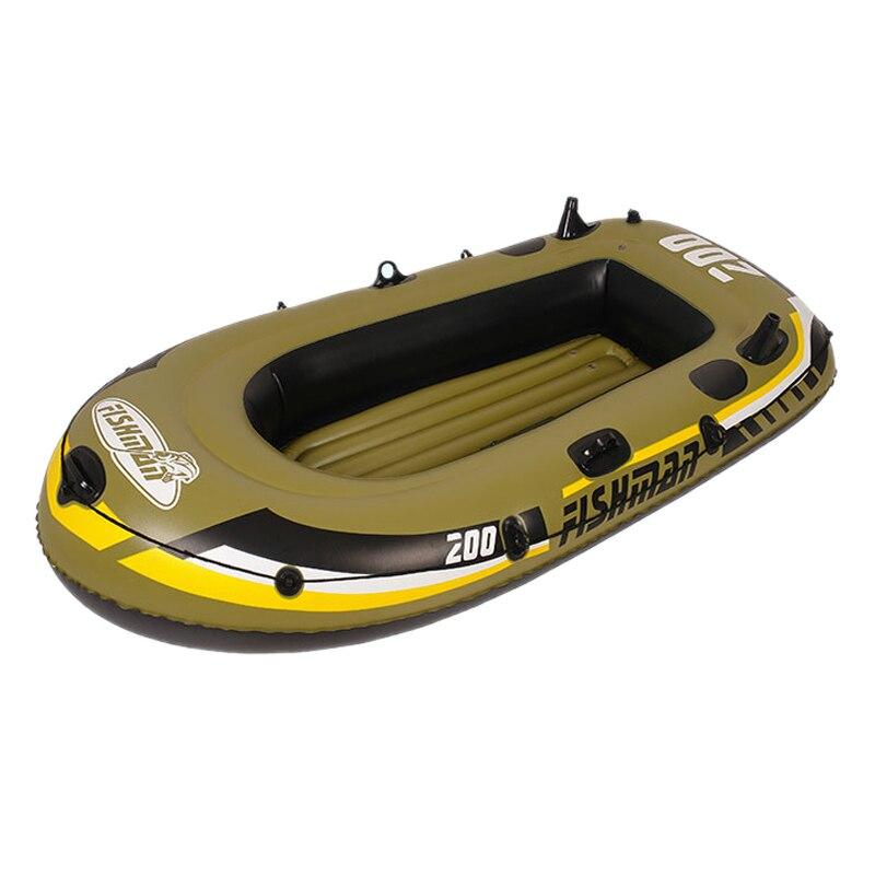 2 3 4 5 personnes bateau gonflable en caoutchouc pour la pêche Kayak voile rivière Rafting Yacht bateau de pêche PVC bateaux à rames gonflables