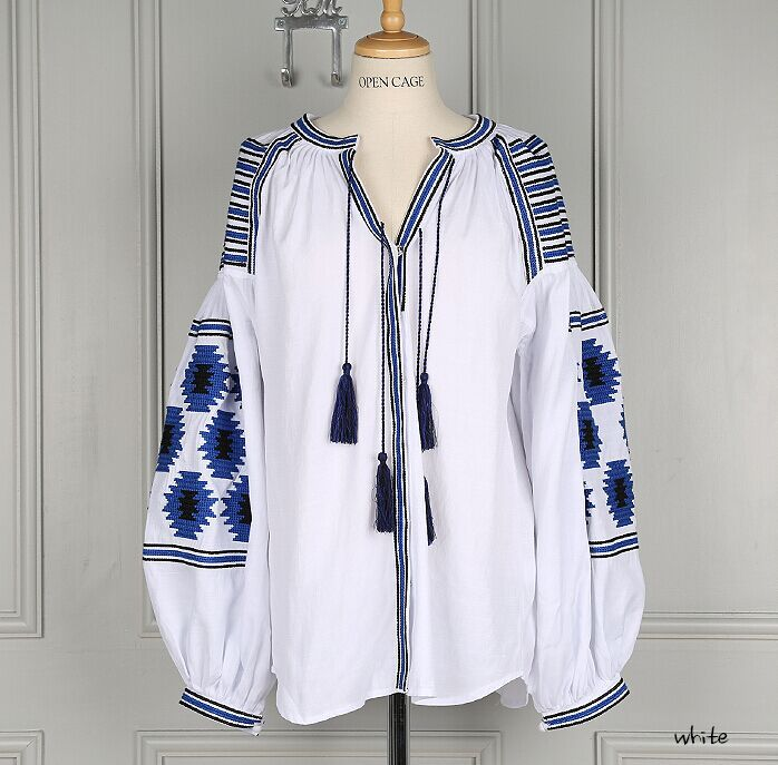 Large-XL Women's Mexican blouse, fiesta dress, Mexican clothing, Oaxacan  blouse,
