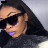 Fashion Cat Eye Sunglasses Women Chic Brand Designer Luxury Sunglasses Lady Summer Style Sun Glasses Female