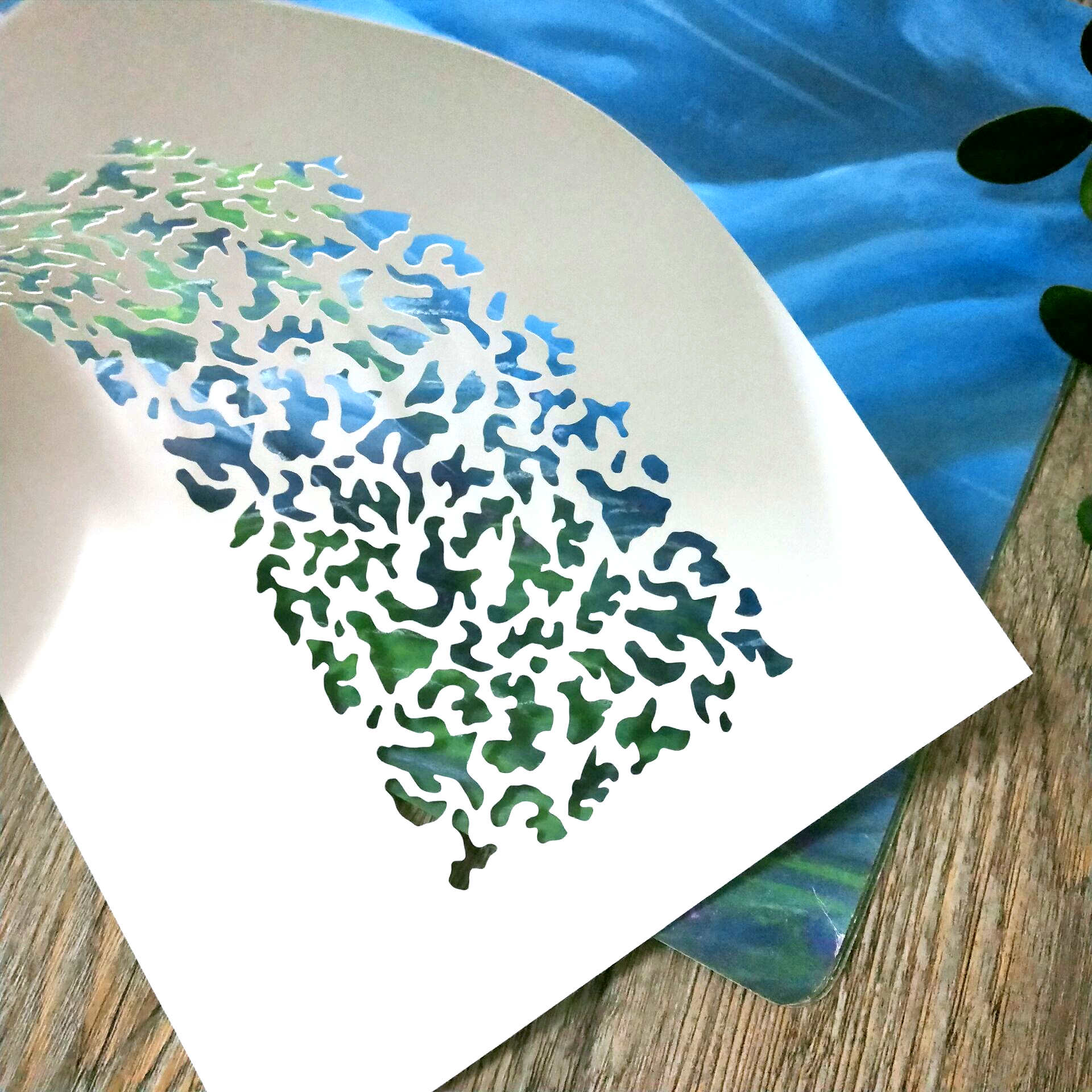 1 Piece A5,camouflage Stencil,camouflageTemplate For Spraying,milatary Spray Stencil,Stamping,Craft Projects