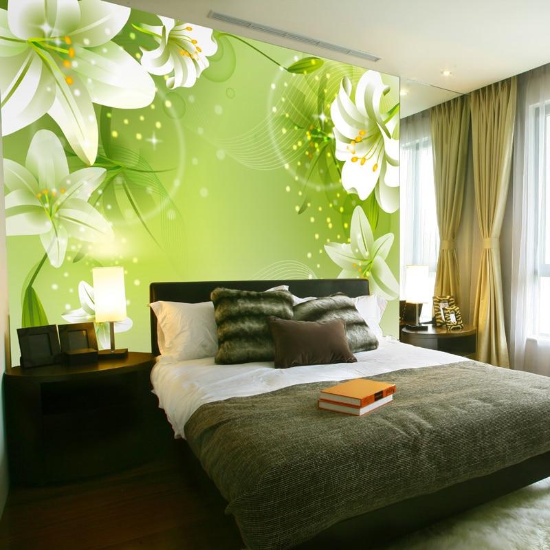 Green Wallpaper For Bedroom