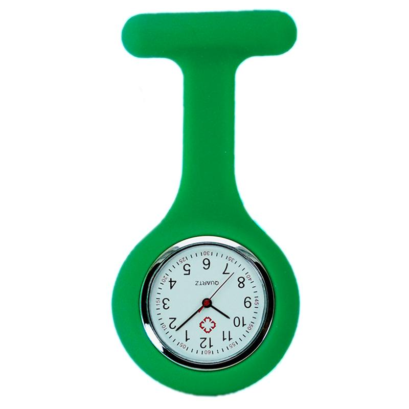Watch -Silicone Nurse Watch Medical Nurse Hanging Pin Chest Watch - YA79
