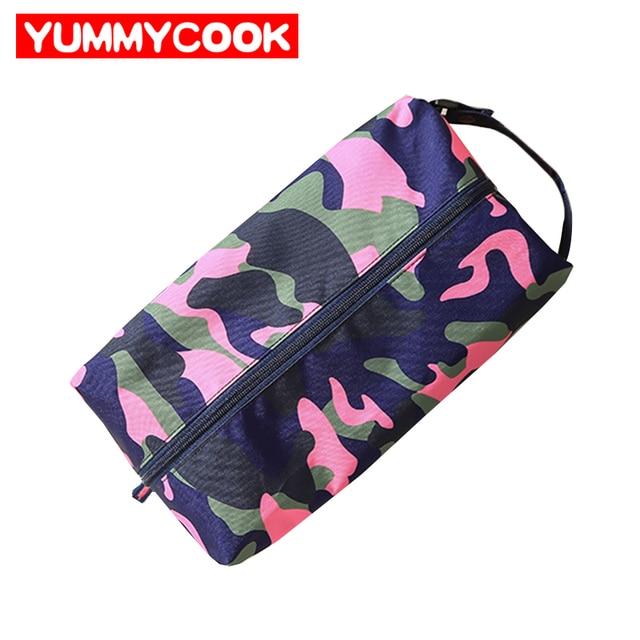 Women S Men Camouflage Shoes Bag Clothes Dance Mesh Zipper Suitcase Organizer Accessories Supplies Stuff