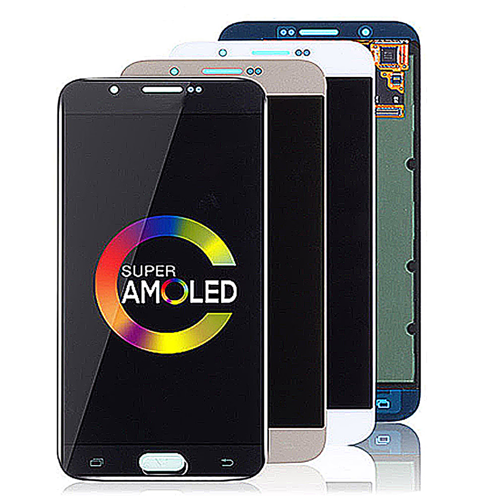 Super AMOLED 5.7'' Display For SAMSUNG GALAXY A8 2016 / A810 LCD Touch Screen Digitizer Assembly For SAMSUNG GALAXY A8 A810 LCD image