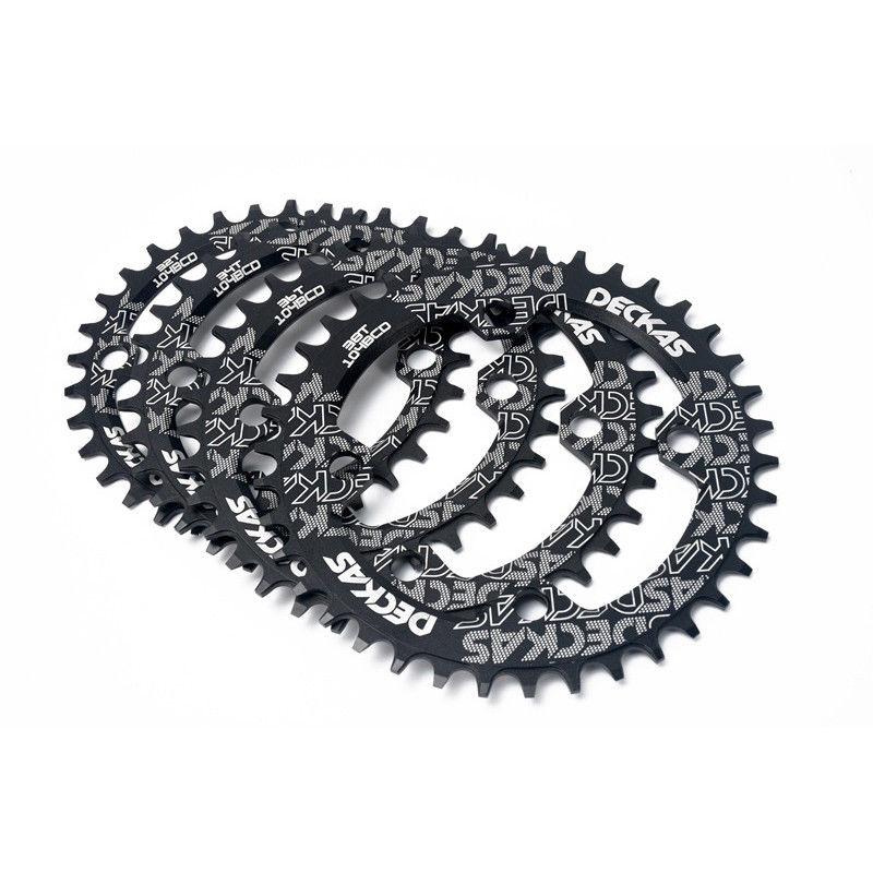 Bike Crank 104BCD Narrow Wide Crankset Single Plate 32T34T36T38T MTB Chainring Bicycle Chainwheel Bike Circle Round Shape (3)