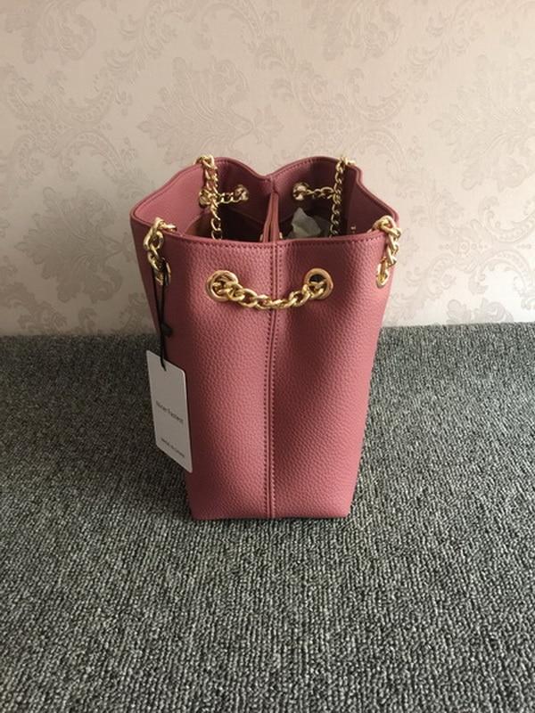 Gland Nice brown De Livraison Pink Gratuite red Nouveau Chaîne Grain Sac D'épaule Mode Plus Simple Litchi Sacs Populaire Rapide TTqCwrv