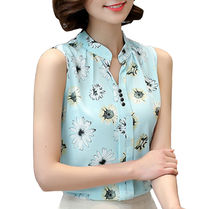 HTB1jsSUPFXXXXXgXFXXq6xXFXXXA - Women Blouses Summer Lace Chiffon Feminina Tops Fashion