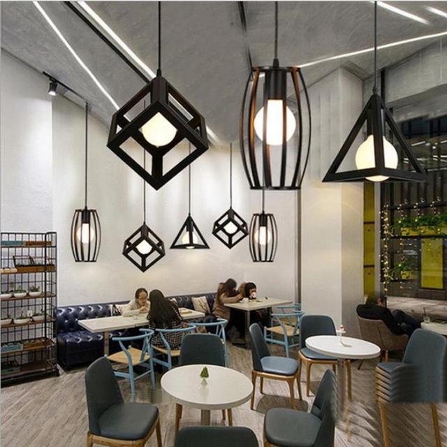 Rétro Bar Loft fer éclairage Industriel luminaires Chambre Salle À ...