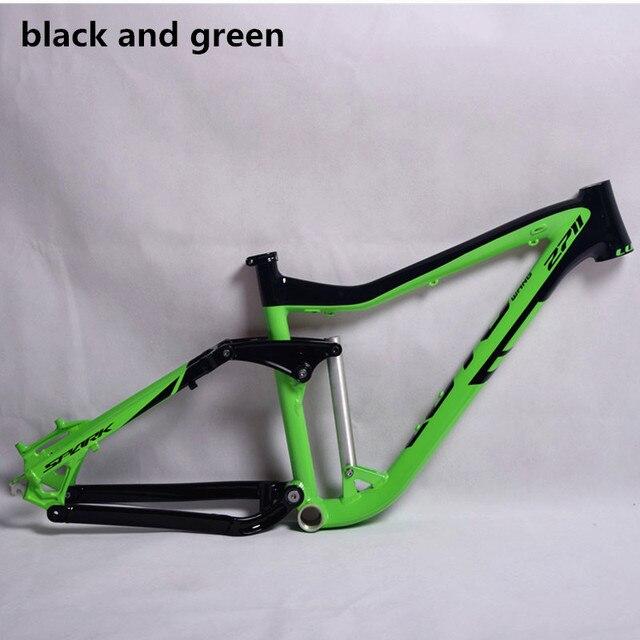 Aleación De Aluminio de Doble Suspensión MTB DH Bicicleta de Montaña ...