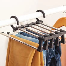 BAKINGCHEF Portable Hanger Men Pants Trousers Holder Woman C