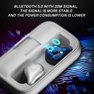 Image 2 - Tfz X1 tws bluetoothイヤホン、twsワイヤレスヘッドフォン100 + 時間2200mah充電すべてのスマートフォン