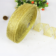 2 meters Christmas Ribbon Decorations for Home 3 Colors Satin Ribbons Tree New Year DIY Sewing Craft