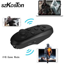 VR Box 3D glasses virtual reality glasses Bluetooth Wireless Gamepad remote control Joysticks for xiaomi iphone Huawei Samsung