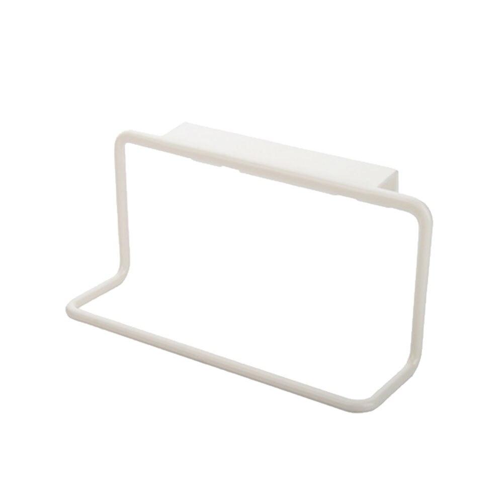 1 * Lappen Kleiderbügel Handtuch Halter Rack Schiene Schrank Schrank Aufhänger Badezimmer Küche Home Top Nützlich Küche Werkzeuge Waren Des TäGlichen Bedarfs