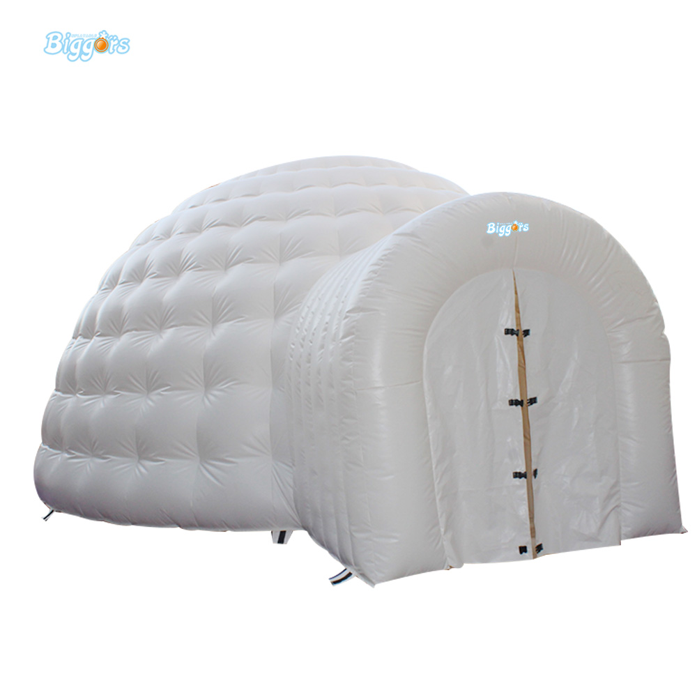 Free Shipping 20ft * 20ft * 10ft White Inflatable Tent Inflatable Dome Tent with Free Blower for Event Advertising Outdoor Toy free shipping inflatable house shaped cube tent with window for events toy tent