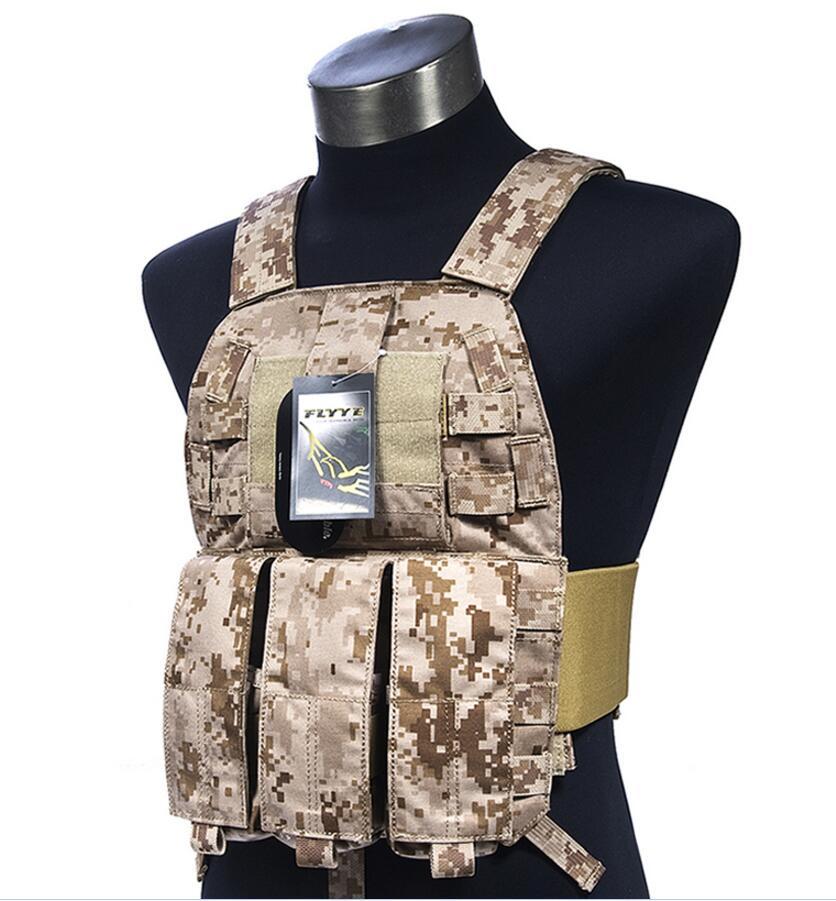 купить FLYYE MOLLE LT6094K Vest Military Tactical Vest VT-M023 по цене 8116.26 рублей
