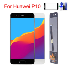 цена на 5.1'' inch Phone LCD For HUAWEI P10 Display Touch Screen Digitizer Replace For HUAWEI P10 Display LCD VTR-L09 VTR-L10 VTR-L29