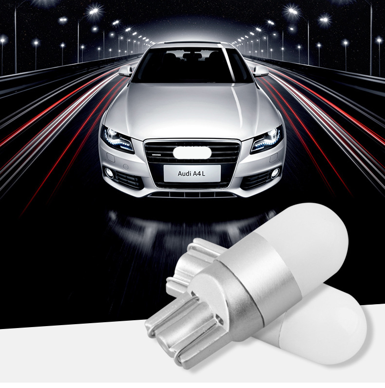YASTARSZ 2017 New 1Pcs T10 3030 1SMD Car Led Wedge Bulb Lamp 3LED 9W Door Light Low Polarity Universal 6000-6500K 12-24V