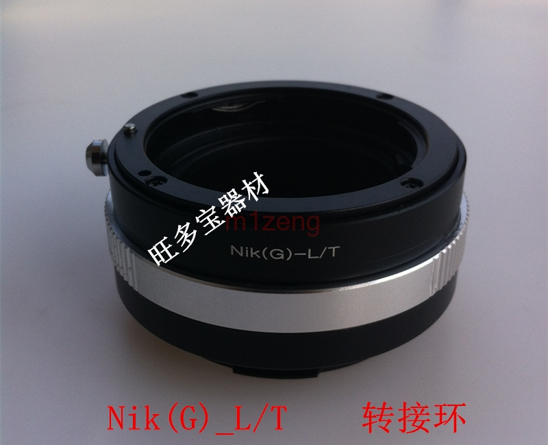 AI G LT G D AI AIS Lens Adapter ring for NIKON G lens to Leica