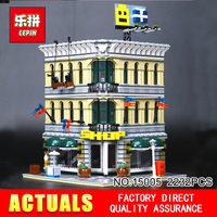 LEPIN 15005 2232Pcs City Creator Grand Emporium Model Building Blocks Bricks action Brick for Children Toy Compatible with 10211
