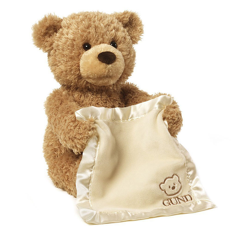 Plush Peek Teddy Bear Toys Doll Stuffed & Plush Animals 30cm