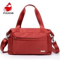 Fouvor Women Travel Bags Large Capacity Waterproof Luggage Travel Duffle Bags Weekend Bags Women Portable Travel Tote Beach Bag