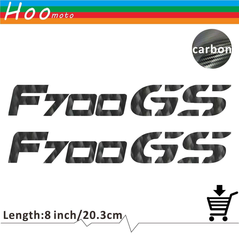 For bmw f700gs f 700 gs motorcycle sticker decal carbon car sticker wheels fairing helmet 5d carbon fiber sticker moto