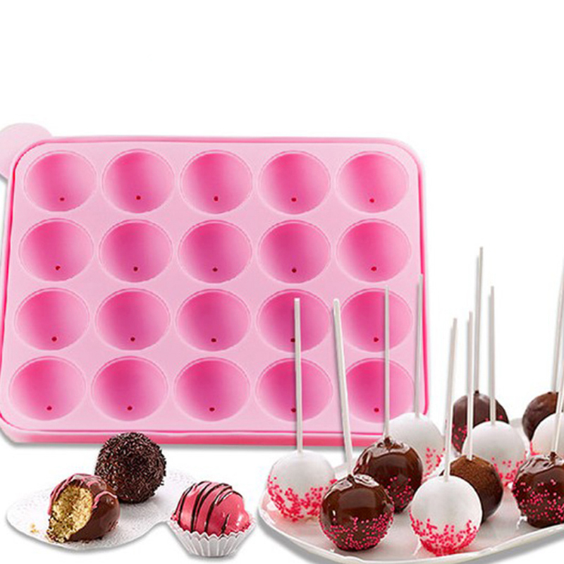 Chocolate Cookes N Cream Dunmore Candy Kitchen: 1pcs Silicone Pop Lollipop Cupcake Cake Stick Mould Tray