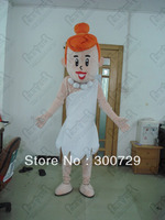 beautiful girl cartoon mascot costumes character person onesies for adults
