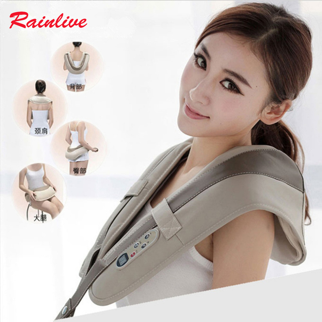 Multifunctional massage shawls neck cervical vertebra massager family health care master powerful massage device