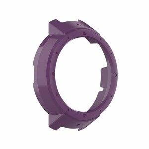 Image 4 - Novo 10 cores capa protetora caso protetor quadro escudo acessórios durável fino para amazfit verge relógio inteligente