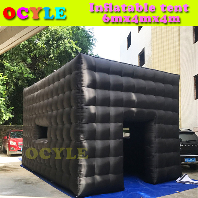 OCYLE 6m black inflatable cube tent outdoor inflatable party tent inflatable tent china large inflatable event & OCYLE 6m black inflatable cube tent outdoor inflatable party tent ...