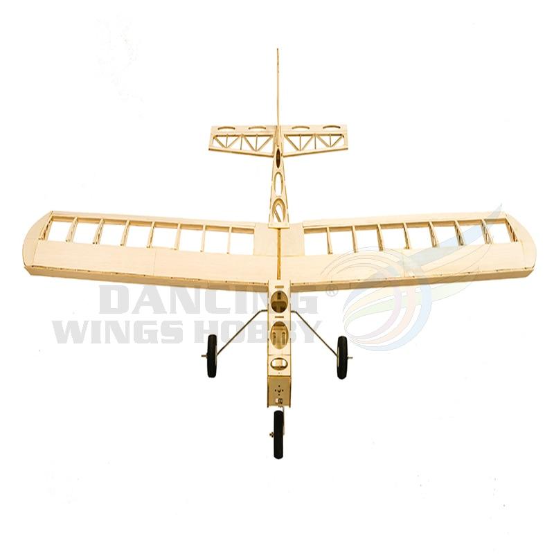 Cloud Dancer 1300mm Wingspan Trainer Balsa Laser Cut RC Airplane Buiding Model