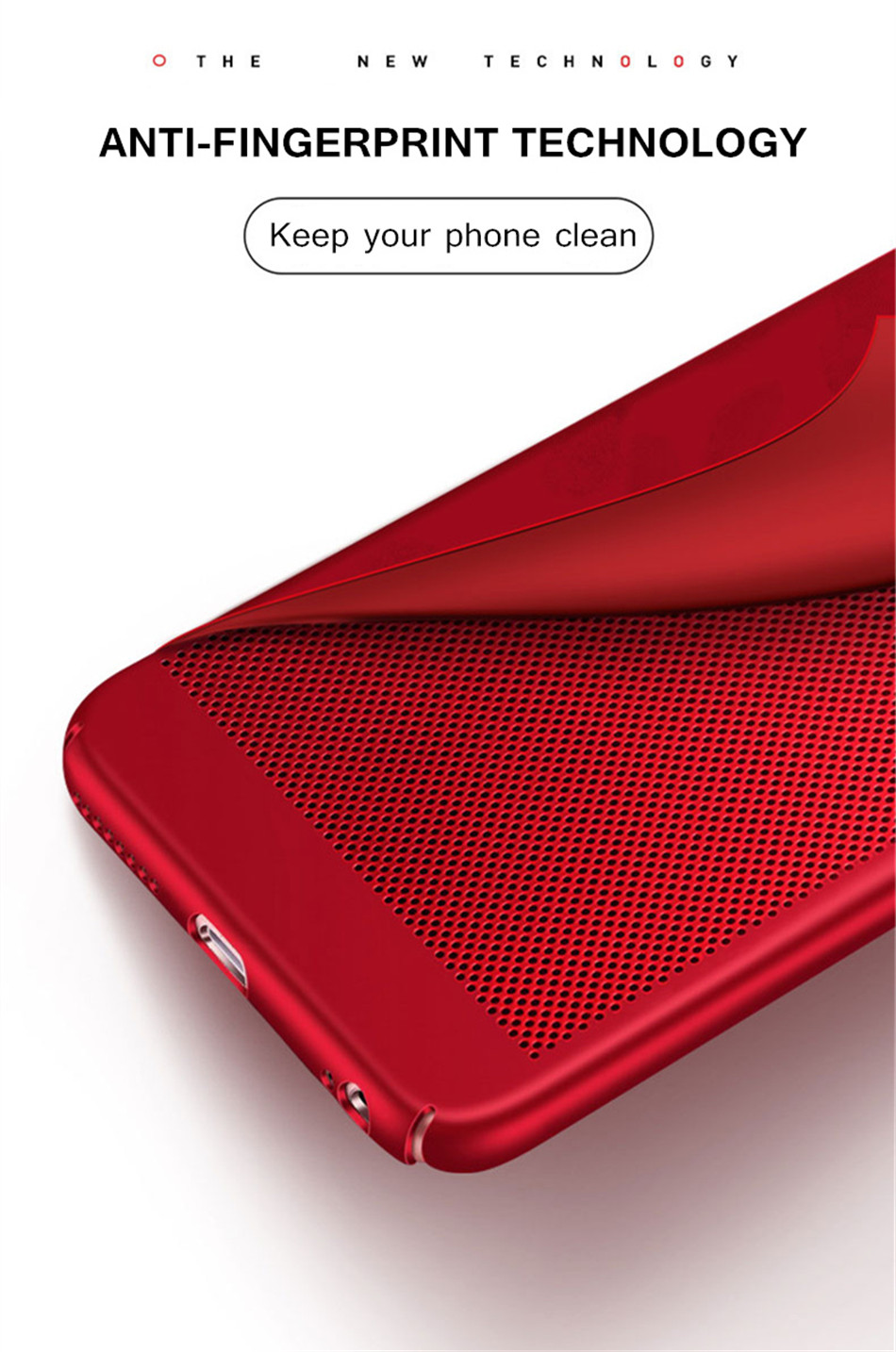 Heat dissipation iPhone Case - Hard Back PC Protect Shell 5
