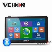 VEHON 7 Inch HD Car GPS Navigation Capacitive Screen FM Bluetooth AVIN Navitel Europe Sat Nav