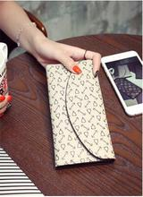 2016The new women's fashion colorful PU leather long wallet women's designer Louis wallet + card package clutch Portafoglio