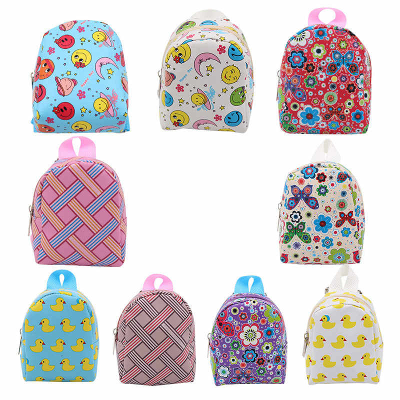Hot Sale Cute Dolls Bag Backpack For 18 Inch 43cm Girls Baby New Doll Duck Bag Accessories Girls Best Christmas Gifts