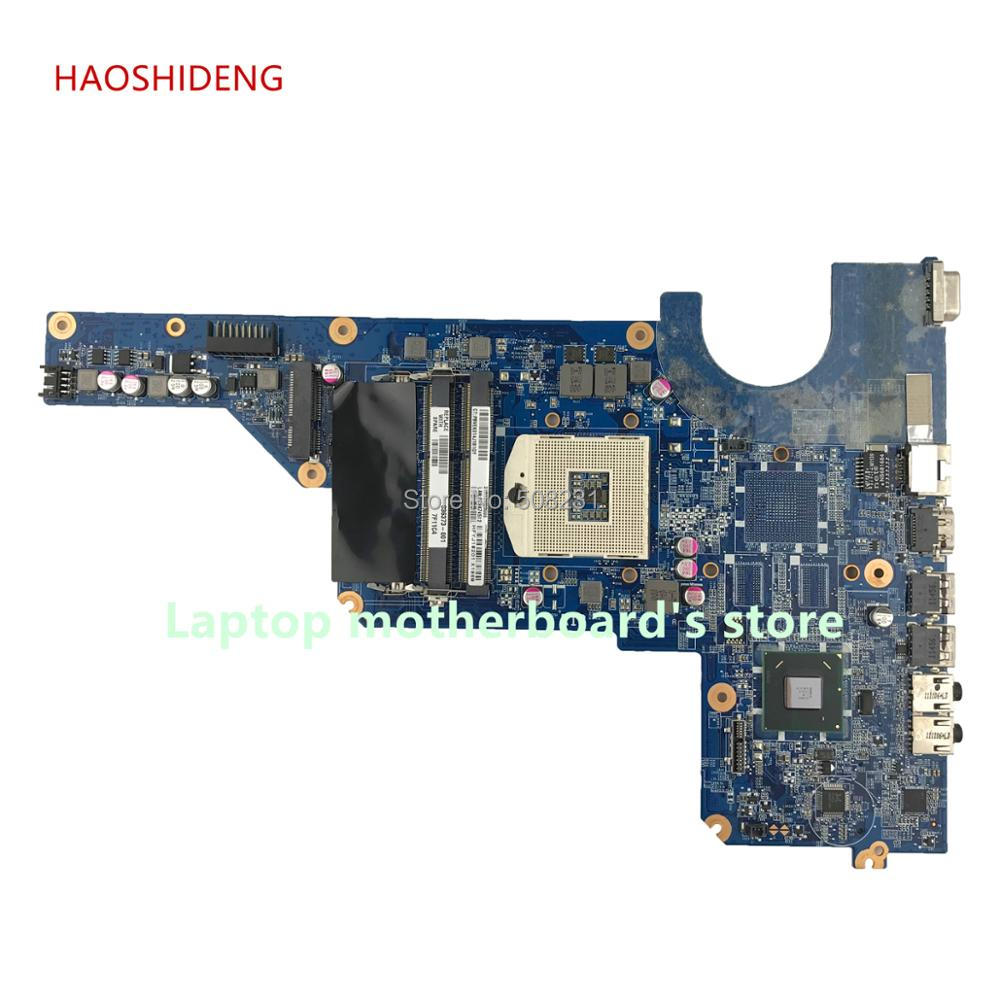HAOSHIDENG 636373-001 R13 DA0R13MB6E0 DA0R13MB6E1 mainboard for Pavilion G4 G6 G7 G4-1000 G6-1000 motherboard HM65 fully Tested автокресло baby care rubin black grey 1023