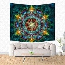 Гексаграмма хиппи-гобелен домашний декор на стену гобелены пляжный коврик для йоги Покрывало Скатерть