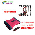 VD600 TCS CDP pro plus 2014 R2 VD 600 tcs cdp pro diagnostic tool + Full set 8 Car Cabless