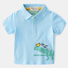 Summer Polos Baby Boys Clothes Shirts Kids Cotton Childrens Clothing Brand Top Quality 2-6