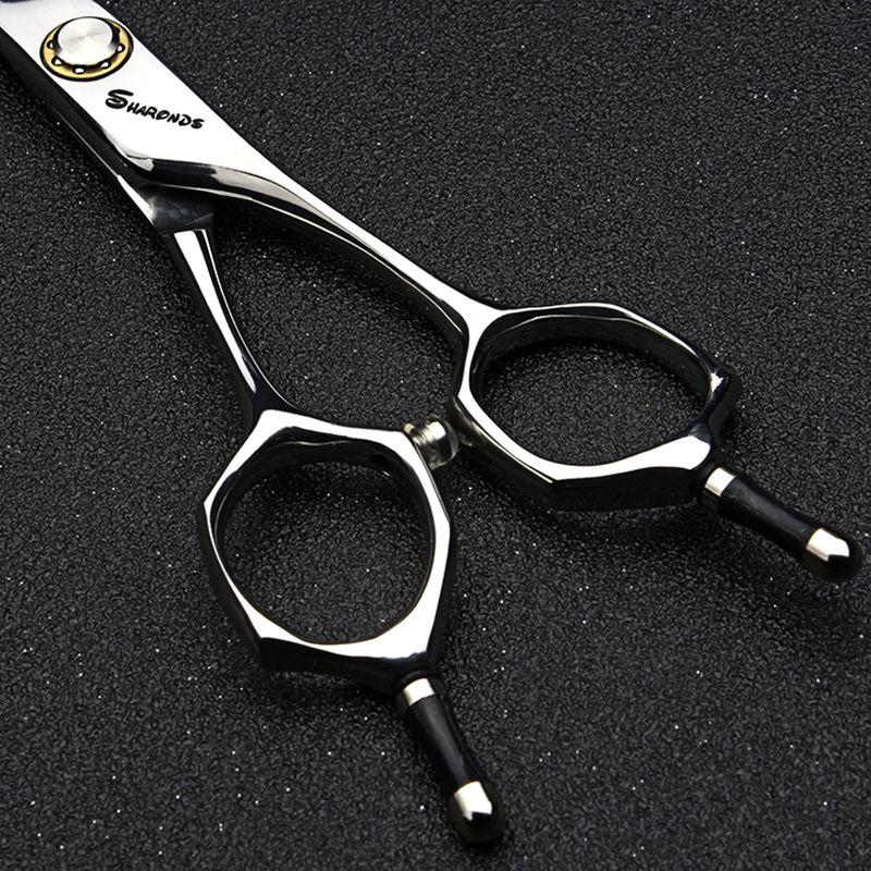 Professional hairdressing scissors for hair cutting 6.0 440c Japan steel Cutting&Thinning shear set barbearia berber makas