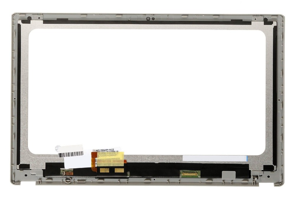 New Laptop replacement touch digitizer Screen For Acer Aspire V5-531 V5-531P V5-571 V5-571P V5-571PG lcd assembly with frame russian keyboard for acer aspire v5 v5 531 v5 531g v5 551 v5 551g v5 571 v5 571g v5 571p v5 571pg v5 531p backlit ru black