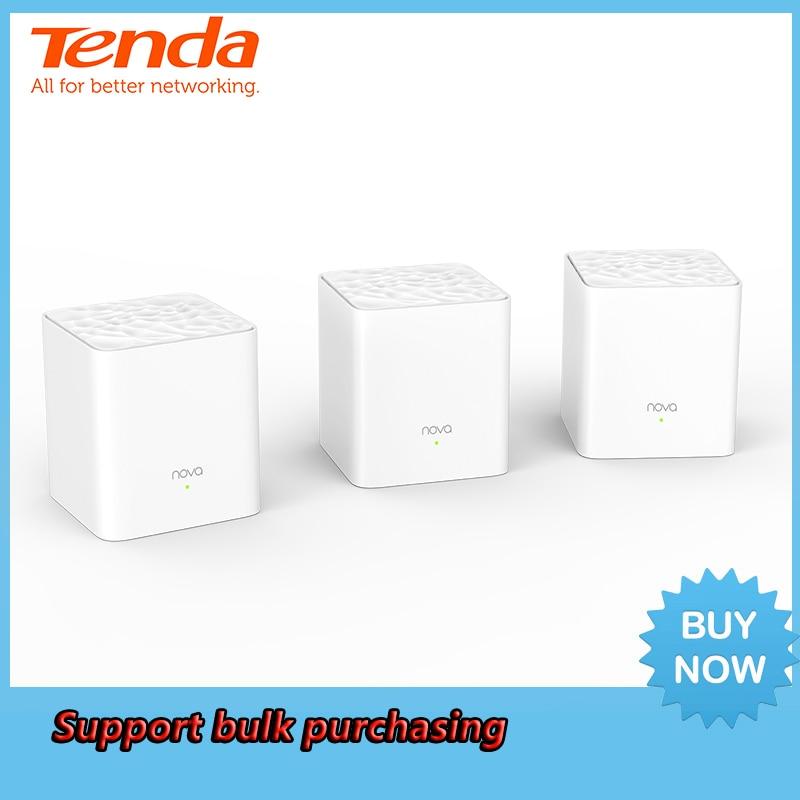 Tenda Nova MW3 Whole Home Mesh WiFi Gigabit System with AC1200 2 4G 5 0GHz WiFi