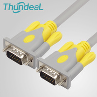 ThundeaL 3+6 VGA Cable 10M 15M 20M OD8mm VGA Male To Male Double Ring Extension For TV BOX Monitor HDTV PC Projector Extender