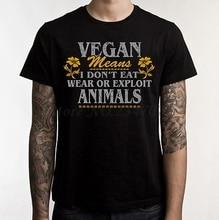 Vegan meaning men's t-shirt