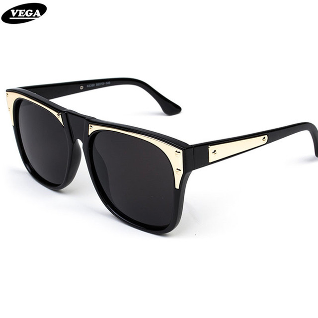 VEGA Latest Ladies Sunglasses Polarized Women Celebrity Party Glasses Mirrored Eyeglasses Plastic Frame 6368