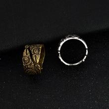 Gothic Odin's Raven Ring Huginn and Muninn Rings for men