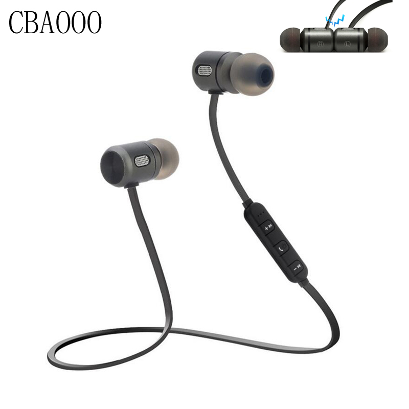 CBAOOO Bass Bluetooth Earphones Sport Wireless Headphones Stereo Bluetooth Headset Earbuds With Mic for phone audifonos blutooth цена