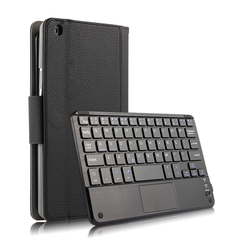 For Huawei Mediapad M3 Lite 8.0 CPN-W09/AL00 Magnetically Detachable ABS Bluetooth Keyboard PU Leather Case Cover + Gift ultra slim magnetic stand leather case cover for huawei mediapad m3 lite 8 0 cpn w09 cpn al00 8tablet case with auto sleep
